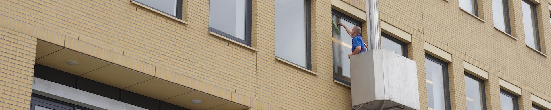 Glasbewassing - Schoonkantoor.nl