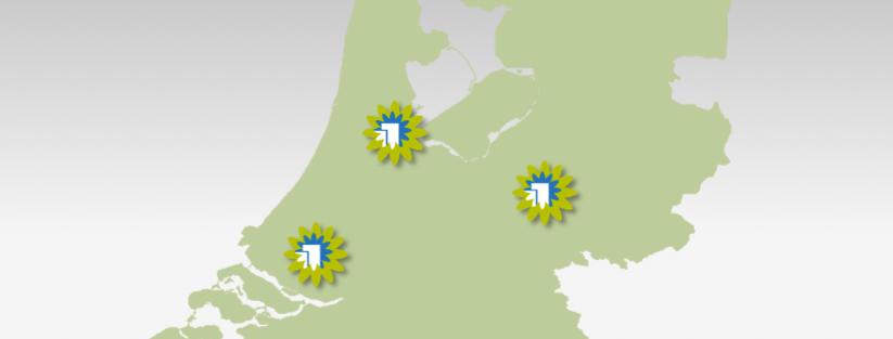 Vestigingen Schoonkantoor.nl: Amsterdam - Rotterdam - Arnhem