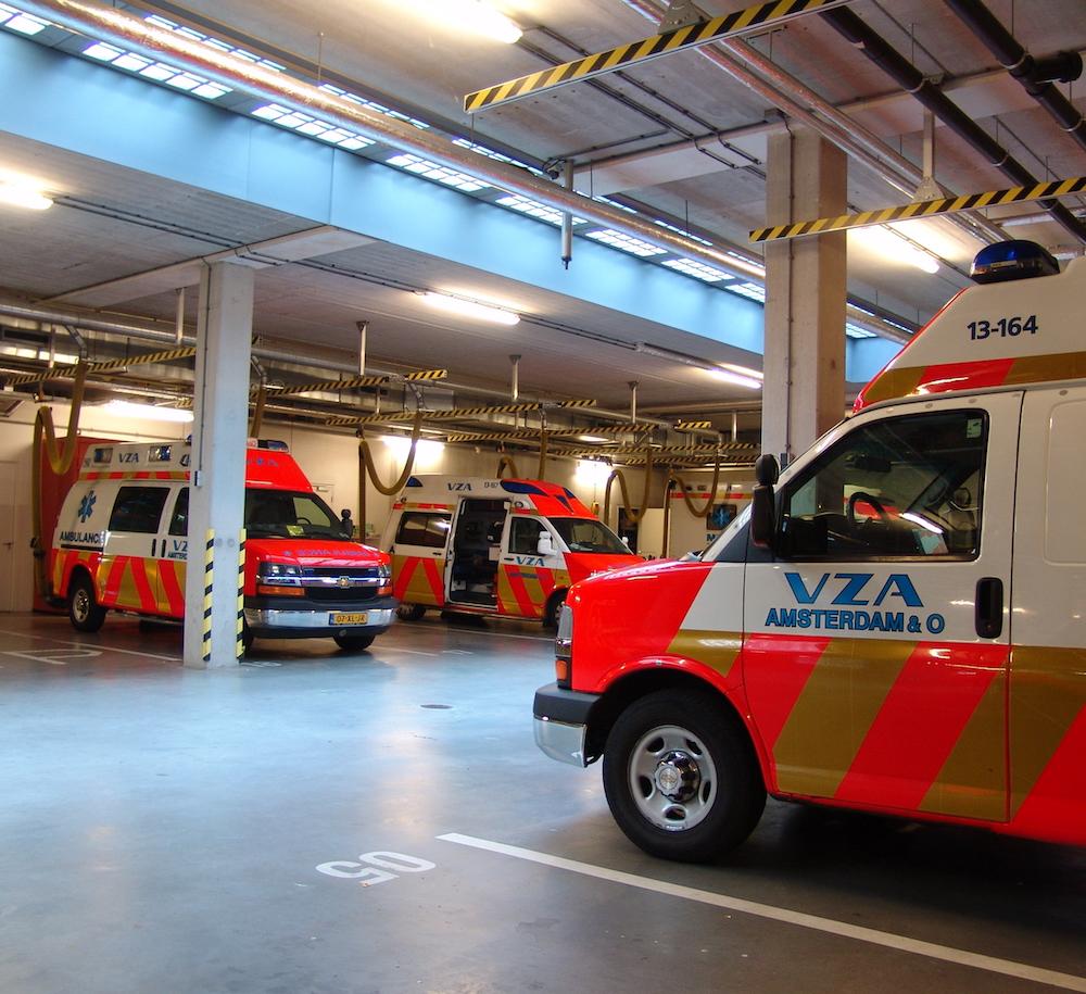 VZA - Verenigd Ziekenvervoer Amsterdam