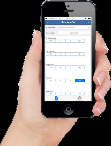 Dschoonkantoor.nl controle app op iPhone