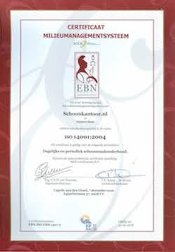 Schoonkantoor.nl ISO 14001